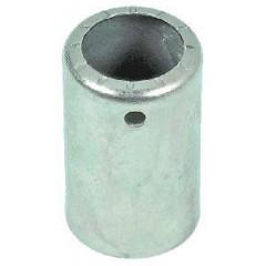 Стакан фитинга алюминиевый под шланг редукц № 10 внутренний диаметр ¢ 20  длина стакана 35, отверстие под фитинг ¢ 14,4