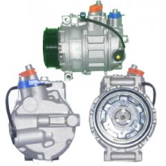Компрессор кондиционера Mercedes Sprinter 3.0CDi, Viano 3.0CDi, Vito 3.0CDi; 06-. Тип: 7SEU17C. 7РК, 100 мм