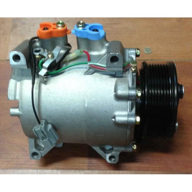 Компрессор кондиционера Honda Accord, Honda CRV. Тип: Keihin HS110R  Диаметр шкива 118 мм, 12 В, 7 РК.