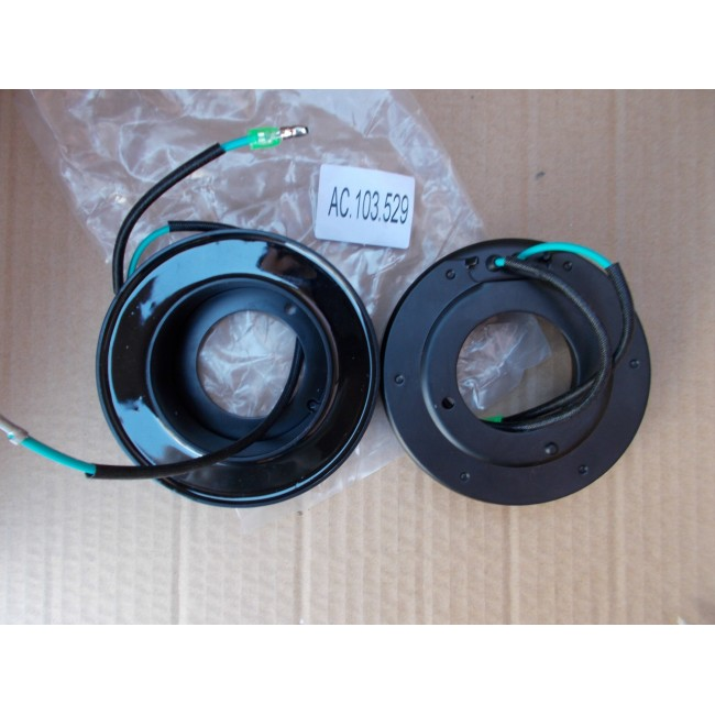Электромагнитная муфта компрессора кондиционера Sanden SD7H15, 24V (2 провода)