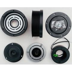 Комплект сцепления  компрессора Denso 7SBU 9PK\130 мм 12V  в сборе, закрытого типа с пыльником.
