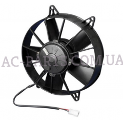 Вентилятор 12 В толкающий (всасывающий). SPAL:VA01-BP70/VLL-36A 250W, 2800 RPM