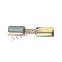 Фиттинг cоеденительный стальной №12 со стальными стаканоми вн диаметром ¢ 24,3