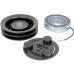 Комплект сцепления компрессора Zexel TM16HD / TM15 / TM13 / TM08, 24В, 2A / 132 мм