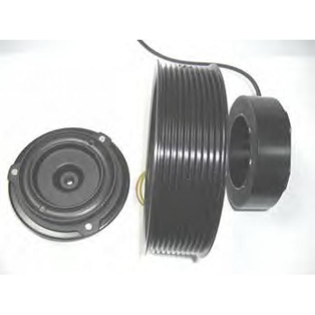Комплект сцепления компрессора 7H15 Ремень 10PK 12Volts . Подшипник:35*55*20 мм
