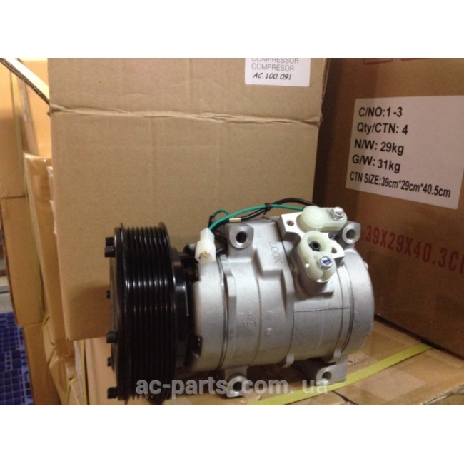 Компрессора: Denso 10S17, 138\8PK 12V. JohnDeere, Caterpillar CAT330