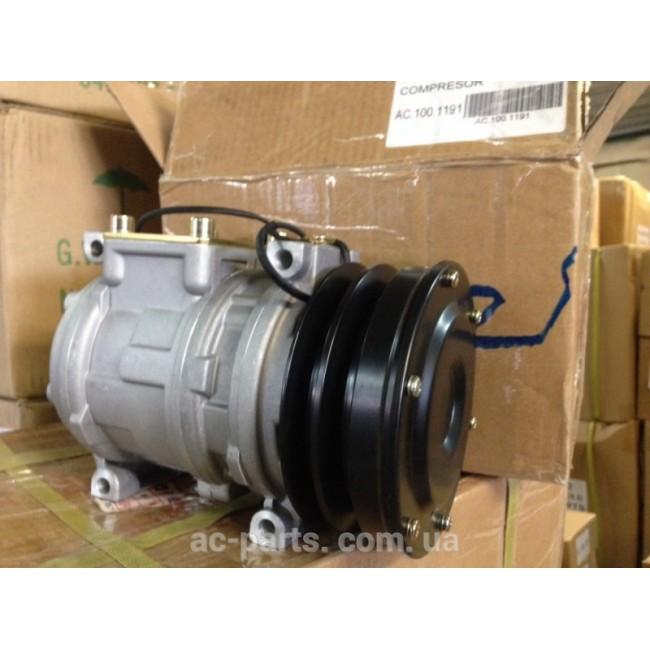 Компрессор Denso 10PA15C, 12V, клиновый шкив 2А, диаметр шкива 130 мм