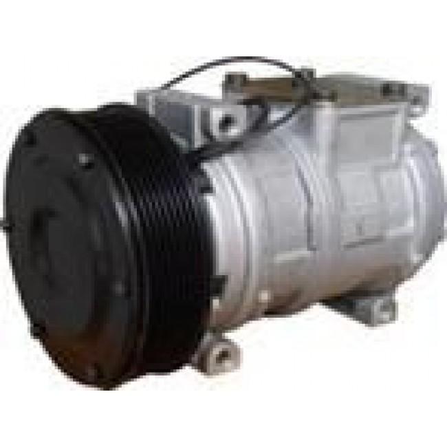 Компрессор кондиционера: Denso 10PА17С Тип шкива: PV8 Диаметр шкива: 145,00 мм Питание: 12V