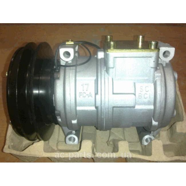 Компрессор кондиционера: Denso 10PА17С Тип шкива: А1 Диаметр шкива: 151,00 мм Питание:12 V