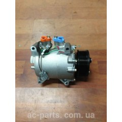 Компрессор автокондиционера: HS110R Тип шкива: PV7 Диаметр шкива: 110 мм CRV 02