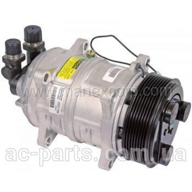 Компрессор кондиционера: TM16-XD Тип шкива:8PK Диаметр шкива: 123mm 12V