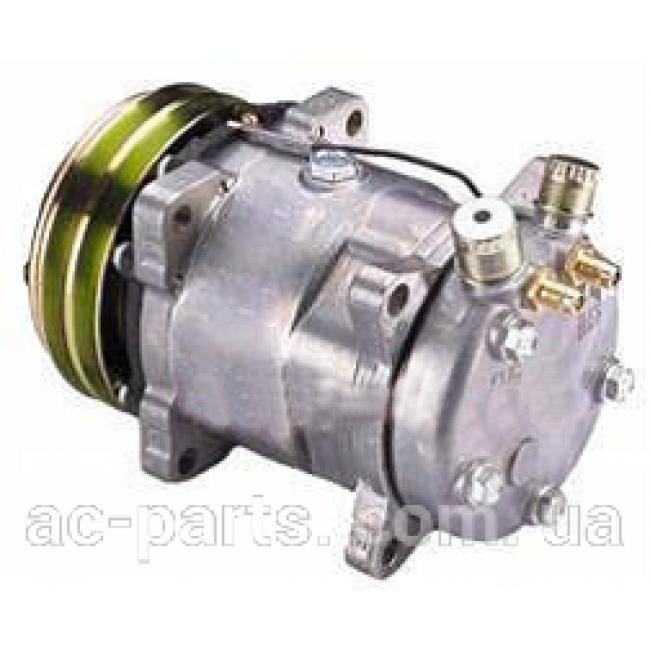 Компрессор кондиционера: 5H14 (508) Тип шкива: 2AДиаметр шкива: 132 мм 12V Вертикальные выходы под O-ring