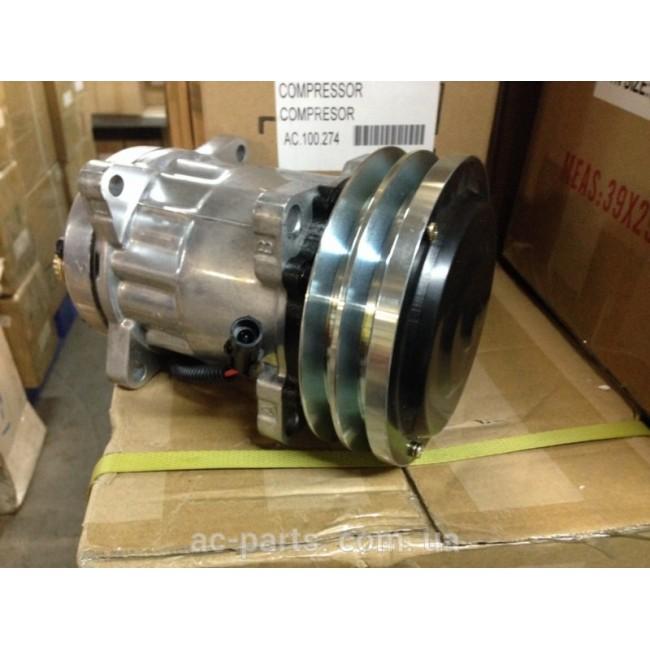 Компрессор SD7H15, 12V, шкив A2, диаметр шкива 152,00 мм