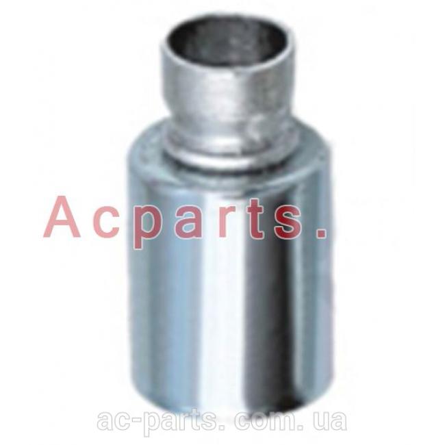 Фитинг алюминиевый №12 под пайку со стальным стаканом внутренним диаметром ¢ 24.3