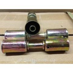 Фиттинг cоеденительный стальной №6 со стальными стаканоми вн диаметром ¢ 19.5