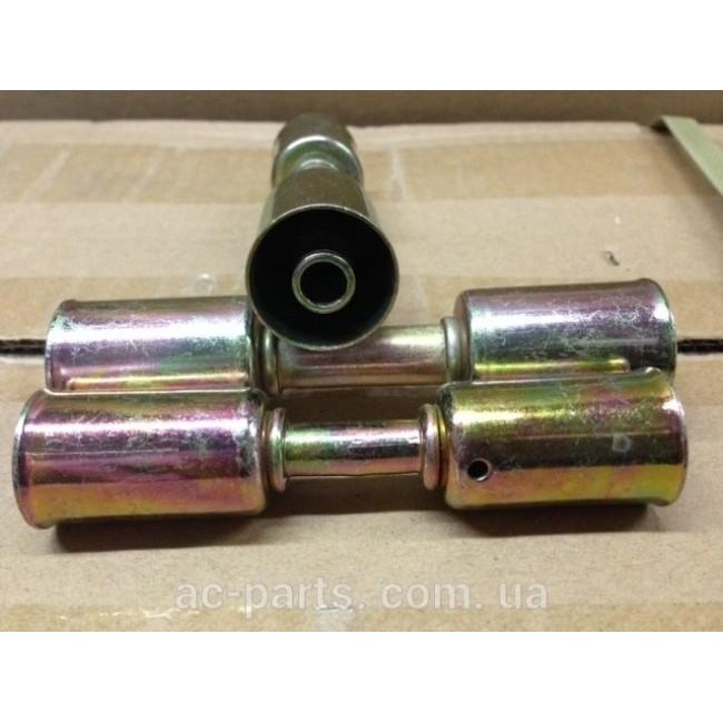 Фиттинг cоеденительный стальной №10 со стальными стаканоми вн диаметром ¢ 20,5