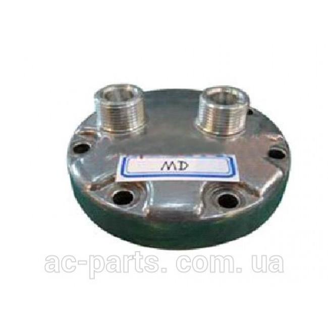 Крышка задняя компрессора кондиционера Sanden 7H13/7H15 Тип - MD, Выход - Горизонтальный