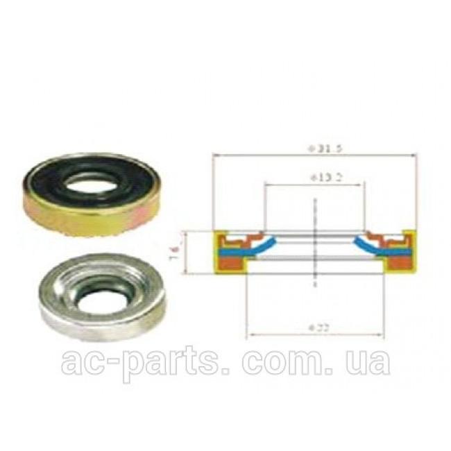 Сальник вала компрессора 31,5x14,3x7,6/9.2 мм