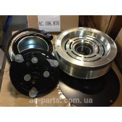 Шкив компрессора кондиционера комплектный SD7H15 Case 152 мм, 8PK
