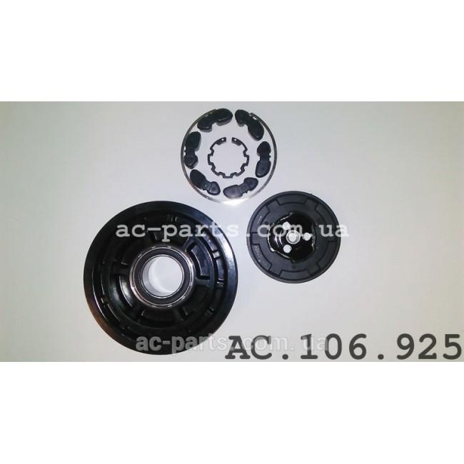 Комплект сцепления компрессора DENSO 6SEU14C / 7SEU17C