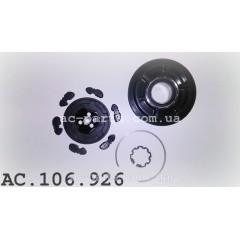 Комплект сцепления компрессора DENSO 6SEU14C внешний диаметр 112 mm, ремень 6PK