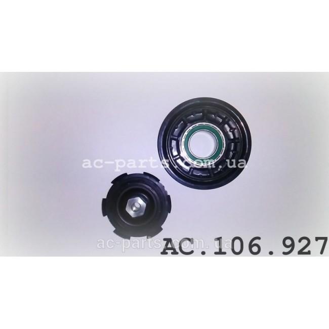 Комплект сцепления компрессора DENSO 6SEU14C, 7SEU17C внешний диаметр 110 мм, ремень 6PK