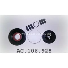 Комплект сцепления компрессора DENSO 6SEU16C, 7SEU16C, 7SEU17C внешний диаметр 100 мм, ремень 6PK