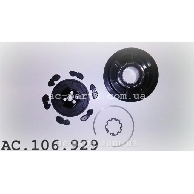 Комплект сцепления компрессора DENSO 7SEU17C внешний диаметр 105 мм, ремень 7PK
