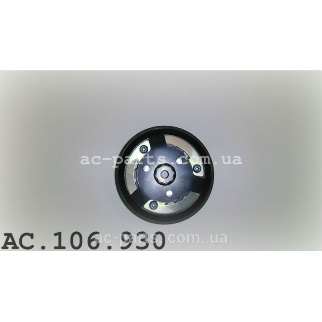 Комплект сцепления компрессора Sanden PXE14, PXE16 внешний диаметр 110 мм, ремень 6PK