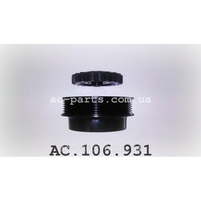 Комплект сцепления компрессора Zexel DCS17E, 6PK/110mm C-Class / Sprinter / Vito внешний диаметр 110 мм, ремень 6PK